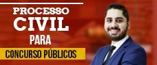 PROCESSO CIVIL PARA CONCURSOS PÚBLICOS