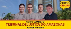 TJ-AM   AUXILIAR JUDICIÁRIO (ENSINO FUNDAMENTAL)