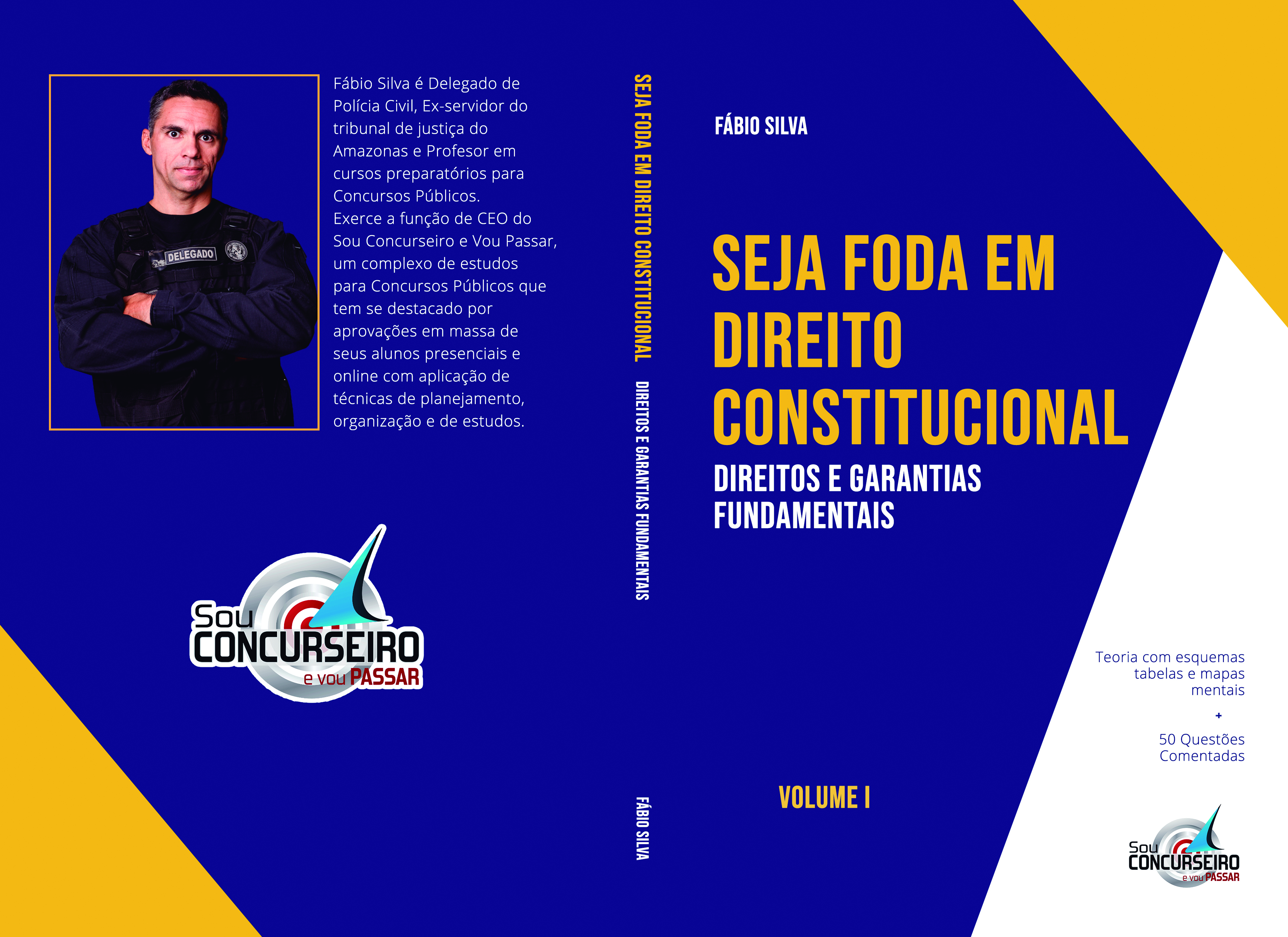 EBOOK | SEJA FODA EM DIREITO CONSTITUCIONAL - VOLUME I
