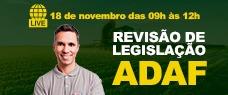 REVISÃO DE LEGISLAÇÃO DA ADAF
