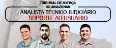 TJ-AM | SUPORTE AO USUÁRIO DE INFORMÁTICA (NÍVEL MÉDIO) - TODAS AS DISCIPLINAS