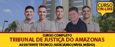 TJ-AM | ASSISTENTE JUDICIÁRIO (NÍVEL MÉDIO) - TODAS AS DISCIPLINAS