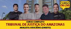 TJ-AM   ANALISTA JUDICIÁRIO  EM DIREITO - TODAS AS DISCIPLINAS