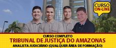 TJ-AM | ANALISTA JUDICIÁRIO QUALQUER ÁREA DE FORMAÇÃO  - TODAS AS DISCIPLINAS