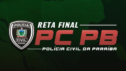CURSO GRATUITO POLÍCIA CIVIL DA PARAÍBA [PC PB]